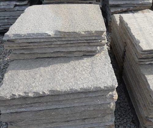Lose da tetto o copertura in pietra di Luserna dimensione 80 x 80