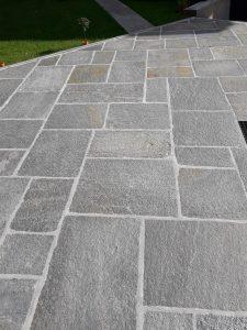 Quadratoni per pavimenti esterni di luserna pelganta giorgio for Sears garage pavimentazione