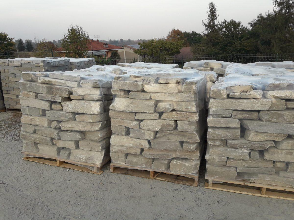 Muro Fatto In Pietra pietre per realizzare muri a secco a vista di luserna